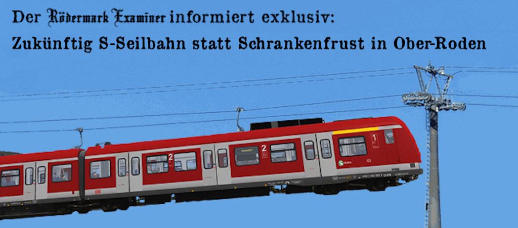 S-Seilbahn für Bahnübergang  Ober-Roden